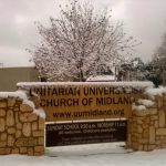 UUCOm snow sign